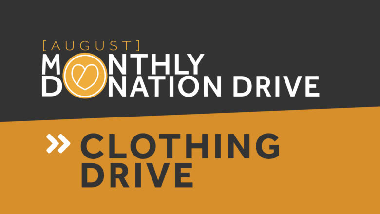 Donation Drop-Off Event: Clothing & Books - August 21