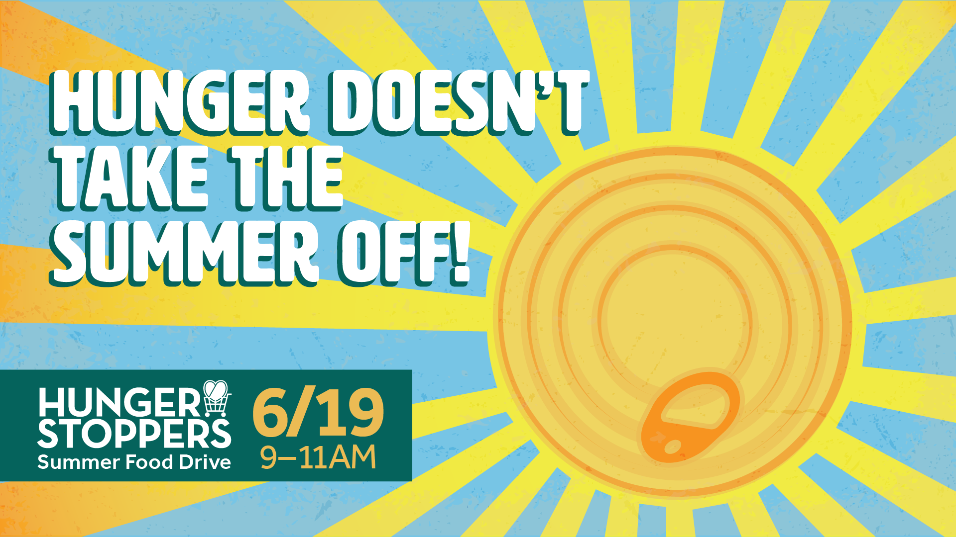 Hunger Stoppers Summer Drive 1920X1080